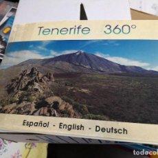 Fotografía antigua: ALBUM CON 12 FOTOGRAFIAS PANORAMICAS TENERIFE 360 GRADOS. Lote 118548395