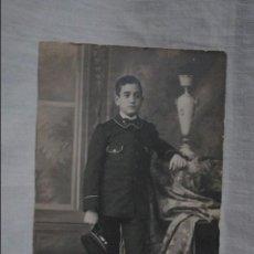 Fotografía antigua: SOLDADO , O MARINO . Lote 118730211