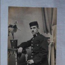 Fotografía antigua: SOLDADO ZAPADOR , 1915. Lote 118731591