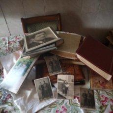 Fotografía antigua: LOTAZO DE 10 ÁLBUMES DE FOTOGRAFÍAS ANTIGUAS Y 3 CUADROS ANTIGUOS.DESDE EL PRINCIPIOS DEL SIGLO XX . Lote 119028495