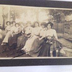 Fotografía antigua: FOTO INDIANOS ASTURIAS. FIESTA. PUENTES GRANDES. CUBA. 1907. Lote 119094235