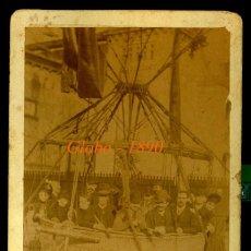 Fotografía antigua: GLOBO - BARCELONA - 1888 - FOTO ESPLUGAS . Lote 119944055