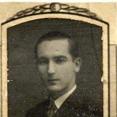 Fotografía antigua: MARIANO S. ALASTRUEY 1923-30 RETRATO ORLA FACULTAD MEDICINA-VALENCIA. Lote 120065371