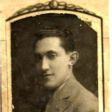 Fotografía antigua: ALBINO LOPEZ DEL AMO 1923-30 RETRATO ORLA FACULTAD MEDICINA-VALENCIA. Lote 120065439