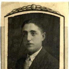 Fotografía antigua: JOSE RUIZ RICO 1923-30 RETRATO ORLA FACULTAD MEDICINA-VALENCIA. Lote 120065731