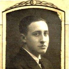 Fotografía antigua: SILVANO I. LAGUNA 1923-30 RETRATO ORLA FACULTAD MEDICINA-VALENCIA. Lote 120065799