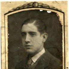 Fotografía antigua: ENRIQUE G. ALONSO 1923-30 RETRATO ORLA FACULTAD MEDICINA-VALENCIA. Lote 120065975