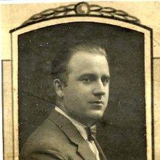 Fotografía antigua: JULIO MARTINEZ BRUNA 1923-30 RETRATO ORLA FACULTAD MEDICINA-VALENCIA. Lote 120066075
