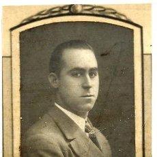 Fotografía antigua: URBANO GONZALEZ GIL 1923-30 RETRATO ORLA FACULTAD MEDICINA-VALENCIA. Lote 120066395