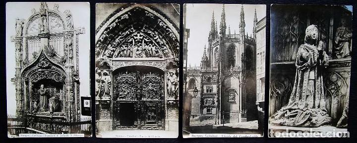 Fotografía antigua: BURGOS. LOTE DE 5 ALBÚMINAS. TAMAÑO 20 x 12,5 cm. - Foto 3 - 120352339