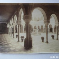 Fotografía antigua: SEVILLA. CASA DE PILATOS. PATIO. LEVY Nº 57. Lote 121707415