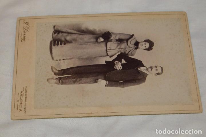Fotografía antigua: Vintage - ANTIGUA FOTOGRAFÍA - JULIO DERREY - PRIMER FOTÓGRAFO VALENCIANO - ALBUMINA - HAZ OFERTA - Foto 2 - 121729039