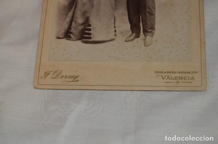 Fotografía antigua: Vintage - ANTIGUA FOTOGRAFÍA - JULIO DERREY - PRIMER FOTÓGRAFO VALENCIANO - ALBUMINA - HAZ OFERTA - Foto 3 - 121729039