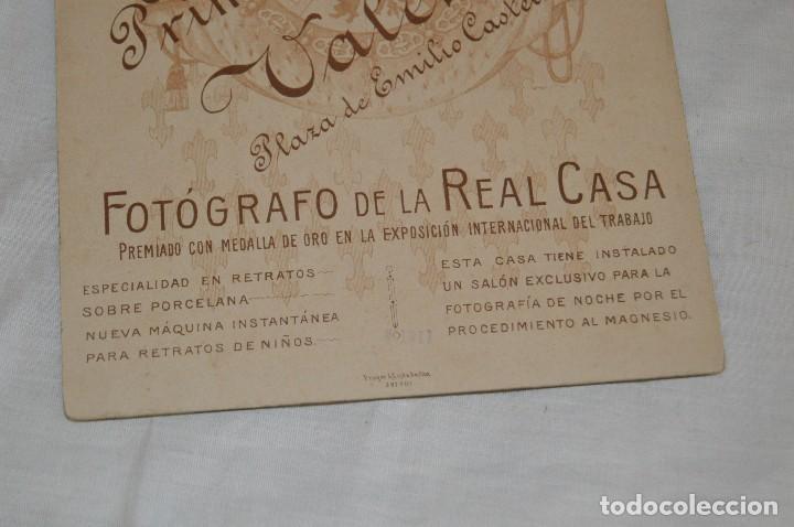 Fotografía antigua: Vintage - ANTIGUA FOTOGRAFÍA - JULIO DERREY - PRIMER FOTÓGRAFO VALENCIANO - ALBUMINA - HAZ OFERTA - Foto 5 - 121729039