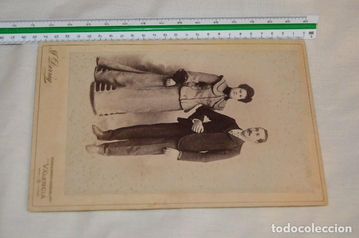 Fotografía antigua: Vintage - ANTIGUA FOTOGRAFÍA - JULIO DERREY - PRIMER FOTÓGRAFO VALENCIANO - ALBUMINA - HAZ OFERTA - Foto 8 - 121729039