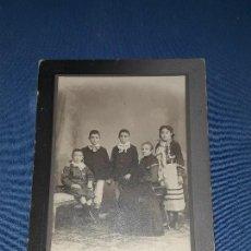 Fotografía antigua: ANTIGUA FOTOGRAFIA BENINCASA BUENOS AIRES. Lote 121805559