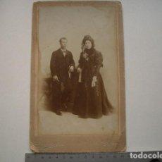 Fotografía antigua: FOTO ALBÚMINA PALOMARES CÓRDOBA. Lote 121965227