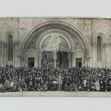 Fotografía antigua: FOTOGRAFÍA DEL SANTUARIO DE LOURDES. ALBÚMINA?. FRANCIA. SIGLO XIX-XX.. Lote 122094347