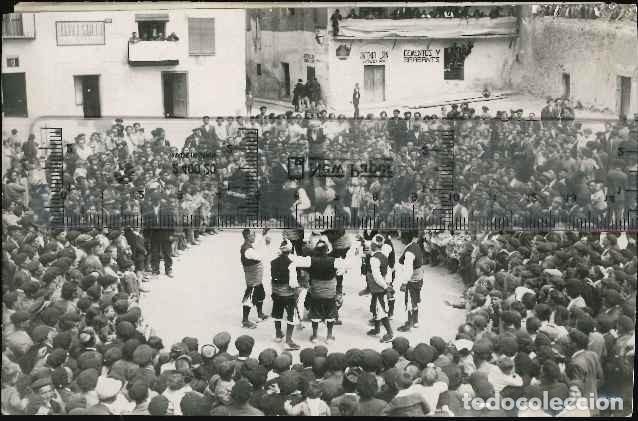 FOLKLORE ESPAÑOL FOTO PIRINE CAJA C. (Fotografía Antigua - Albúmina)
