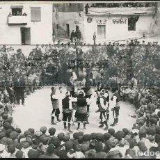 Fotografía antigua: FOLKLORE ESPAÑOL FOTO PIRINE CAJA C.. Lote 124480951