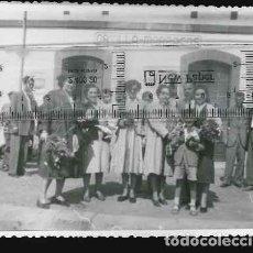 Fotografía antigua: FOTO ESTACION DE TREN CASTILLA MARRACOS . Lote 124481135
