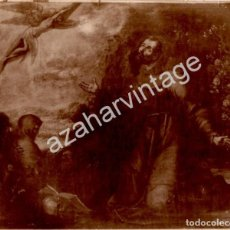 Fotografía antigua: ALBUMINA, SIGLO XIX, CUADRO SANTO, 200X170MM. Lote 124483363