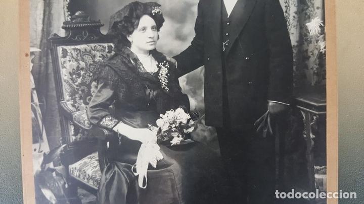 Fotografía antigua: FOTOGRAFÍA DE FAMILIA. ALBUMINA. FOTOGRAFÁ ESTRANYA. BARCELONA. SIGLO XIX-XX. - Foto 4 - 139582266