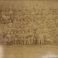 Fotografía antigua: FOTOGRAFIA DE GRUPO. ALBUMINA. ESPAÑA. SIGLO XIX-XX.. Lote 124713063