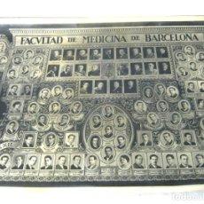 Fotografía antigua: 87 CM - GRAN FOTOGRAFIA MASANA - ORLA FACULTAD DE MEDICINA BARCELONA 1922 - 1929. Lote 125294359