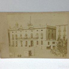 Fotografía antigua: ANTIGUA ALBUMINA BARCELONA - ADUANA ZONA PORTUARIA - FINALES DE 1800. Lote 126618631