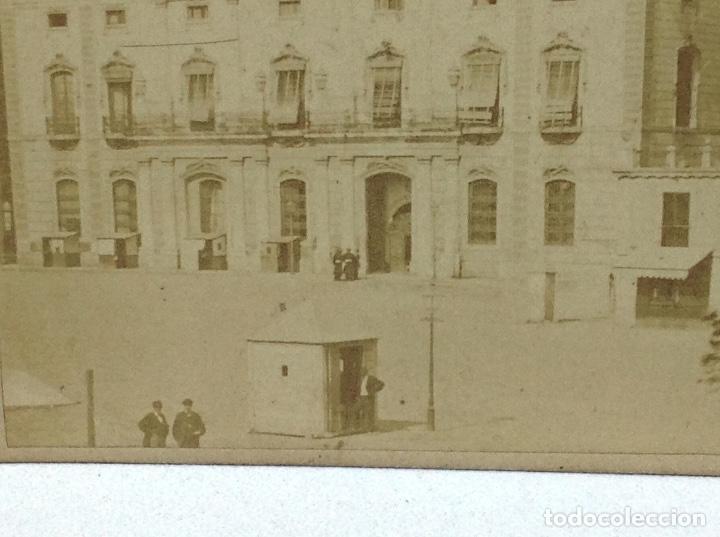 Fotografía antigua: ANTIGUA ALBUMINA BARCELONA - ADUANA ZONA PORTUARIA - FINALES DE 1800 - Foto 2 - 126618631