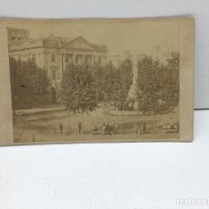 Alte Fotografie - ANTIGUA ALBUMINA BARCELONA - PLAZA DE PALACIO - FINALES DE 1800 - 126618755
