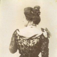 Fotografía antigua: FOTOGRAFIA ORIGINAL FOTOGRAFO ESPLUGAS C.1870. Lote 126996159