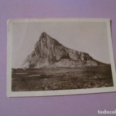 Fotografía antigua: FOTO DE GIBRALTAR. 9X6,5 CM. . Lote 127245923