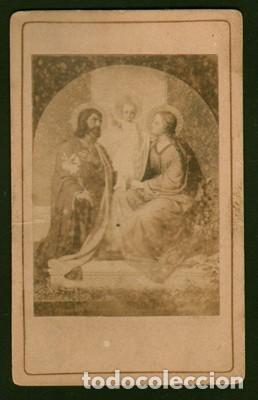 FOTOGRAFIA RELIGIOSA. SOBRE 1880. - ALBUMINA-2386 (Fotografía Antigua - Albúmina)