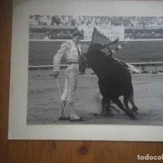 Fotografía antigua: EMILIO SILVERA ZALAMEA LA REAL FOTO ORIGINAL 24 X19 CENTIMETROS. Lote 128151463