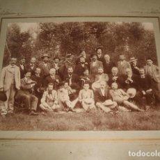 Fotografía antigua: GUADALAJARA GRUPO DE AMIGOS, ASOCIACION O PARTIDO POLITICO ALBUMINA H. 1890 FAMILIA RAMIREZ. Lote 128163007