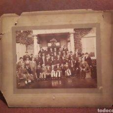 Fotografía antigua: MUY ANTIGUA FOTO DE CLUB SOCIAL, CHICOS O HOMBRES D.H. CRAIG AÑOS 20 O 30. Lote 128174800