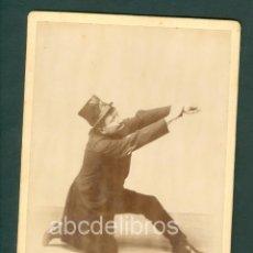 Fotografía antigua: COMICO FOTO ESPLUGAS C.1870 . Lote 128179359