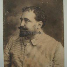 Fotografía antigua: VICENTE BLASCO IBAÑEZ. AÑO 1900. FOTÓGRAFO DESCONOCIDO. SÓLO HOY A LA VENTA. 16/07/2018.. Lote 128186035