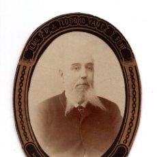 Fotografía antigua: ORLA. DOCTOR TEODORO YAÑEZ FONT. ESPECIALISTA EN MEDICINA LEGAL Y FORENSE. TOXICOLOGÍA. BARCELONA. Lote 128284707
