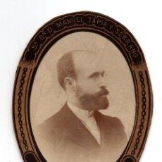 Fotografía antigua: ORLA. DOCTOR MANUEL TAPIA Y SERRANO.- PATOLOGIA QUIRURGICA. Lote 128287267