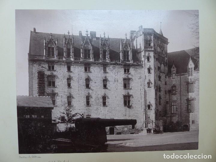 Fotografía antigua: NANTES, FALAISE, ILLE ET VILAINE, FRANCIA - CASTILLO E IGLESIA - AÑOS 1900-1910 - Foto 2 - 128639875