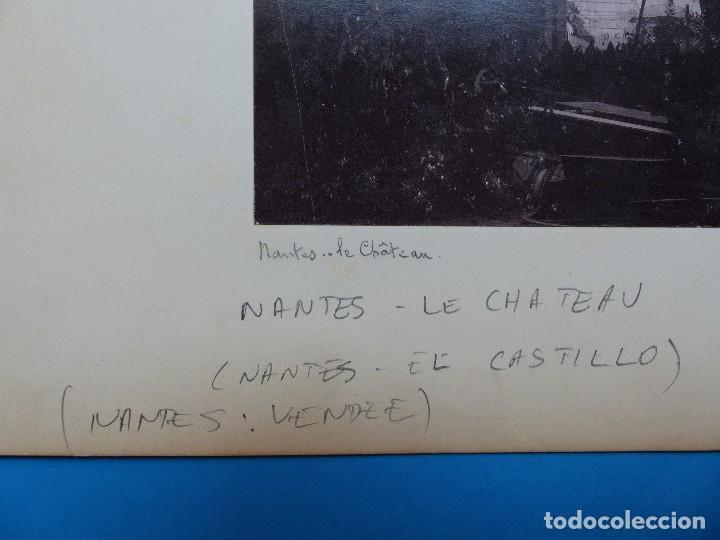 Fotografía antigua: NANTES, FALAISE, ILLE ET VILAINE, FRANCIA - CASTILLO E IGLESIA - AÑOS 1900-1910 - Foto 3 - 128639875