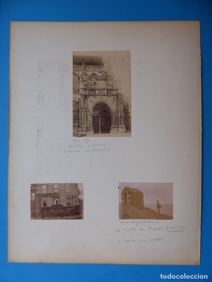 Fotografía antigua: NANTES, FALAISE, ILLE ET VILAINE, FRANCIA - CASTILLO E IGLESIA - AÑOS 1900-1910 - Foto 4 - 128639875