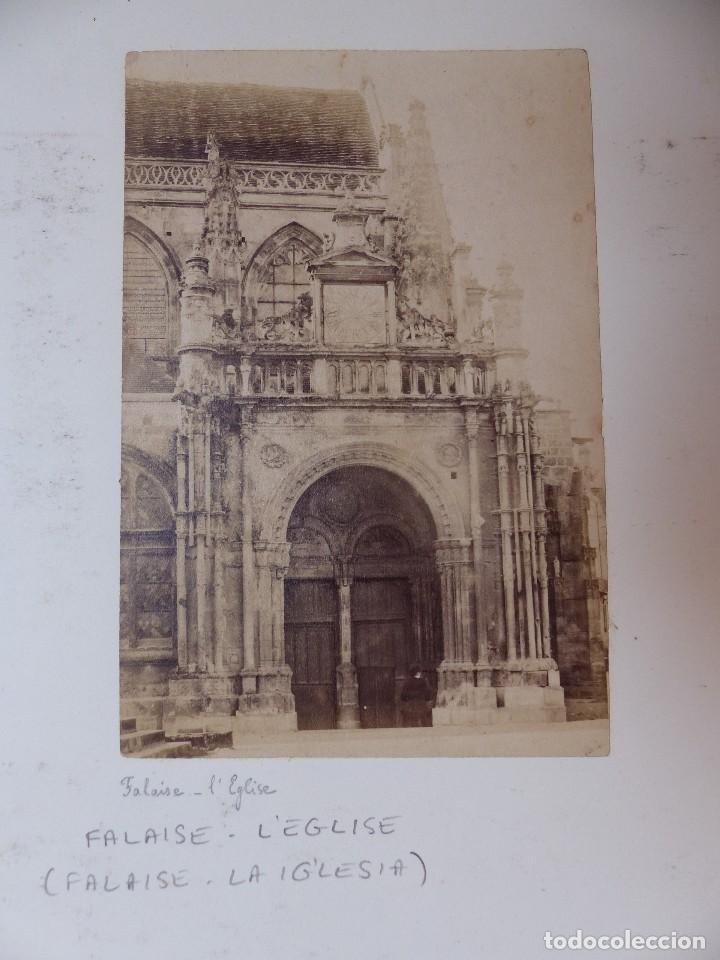 Fotografía antigua: NANTES, FALAISE, ILLE ET VILAINE, FRANCIA - CASTILLO E IGLESIA - AÑOS 1900-1910 - Foto 5 - 128639875