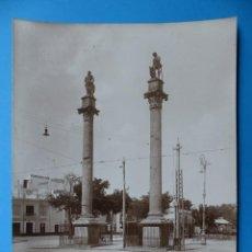 Fotografía antigua: SEVILLA - 178 ALAMEDA DE LOS HERCULES - AÑOS 1920-1930. Lote 128977795