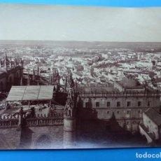 Fotografía antigua: SEVILLA - 154 PANORAMA PRIS DE LA GIRALDA COTE NORD - AÑOS 1880-1890. Lote 128991111