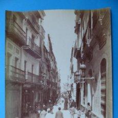 Fotografía antigua: SEVILLA - 187 VUE PRISE DE LA PORTE DE TRIANA - AÑOS 1880-1890. Lote 128992363