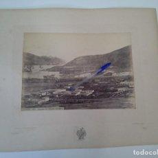 Fotografía antigua: MAGNIFICA ALBÚMINA J. LAURENT, CARTAGENA, 1001. VISTA GENERAL DE CARTAGENA Y DEL ARSENAL.. Lote 129224395